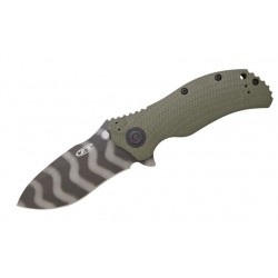 Navaja Zero Tolerance Knives Green Folder
