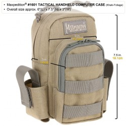Bolsa Maxpedition Tactical Handheld Computer Case Negra
