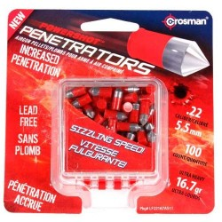 Balines Crosman Red Flight Penetrators 5,5 mm 100 ud