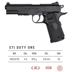 Pistola ASG STI Duty One No Blowback Co2