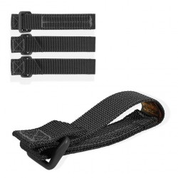 "Maxpedition Tactie straps 3"" Black 4 Unidades"