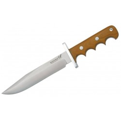 Blackjack Classic Blades Model 14 Halo Attack Natural Micarta
