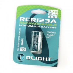 Bateria Recargable Olight CR123A 650 mA