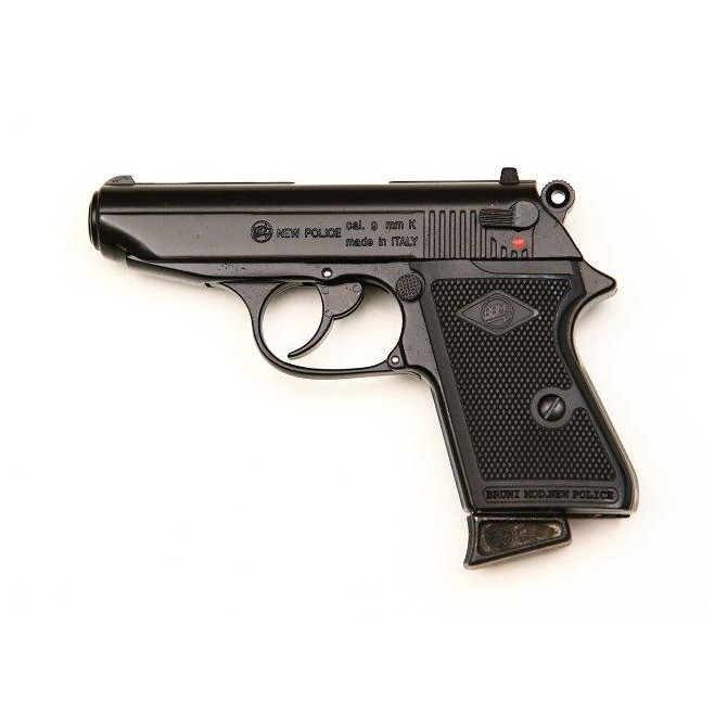 Pistola Detonadora Bruni New Police 9 mm