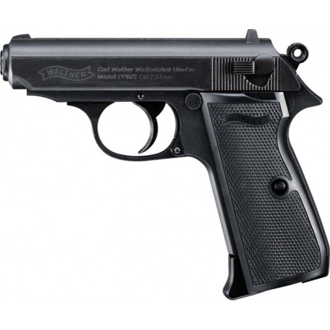 Pistola Walther PPK/S Blowback Co2 Full Metal