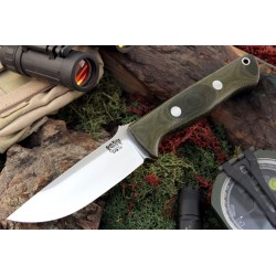 Cuchillo Bark River Bravo 1 Green Canvas