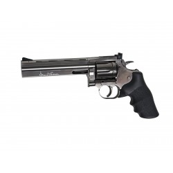 "Revólver ASG Dan Wesson 715 - 6"" Steel Grey Co2 Plomo"