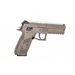 Pistola ASG CZ P-09 Duty FDE Blowback Co2 Plomo