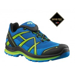 Zapatilla Haix Black Eagle Adventure 2.0 GTX Low/Blue-Citrus
