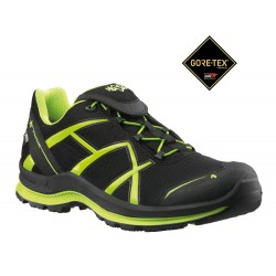 Zapatilla Haix Black Eagle Adventure 2.0 GTX Low Black-Citrus