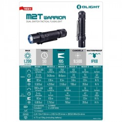 Linterna Olight M2T Warrior