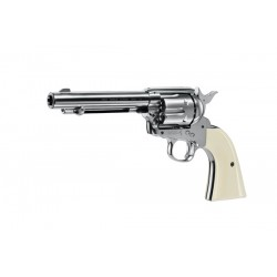 "Revolver Colt SA Army Niquel 5,5"" Co2 - 4,5 mm Plomo"