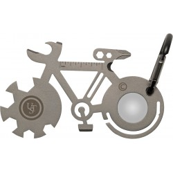 Llavero Ultimate Survival Tool A Long Bicycle