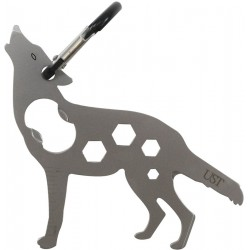 Llavero Ultimate Survival Tool A Long Wolf