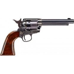 "Revolver Colt SAA .45 Negro 7,5"" Co2 - 4,5 mm Plomo"