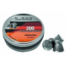 Balines Norica Pointed 5,5 mm 200 ud