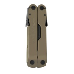 Alicate Multiusos Leatherman Rebar Coyote Funda Nylon