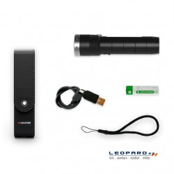 Linterna Led Lenser MT10 1000 Lumens Recargable
