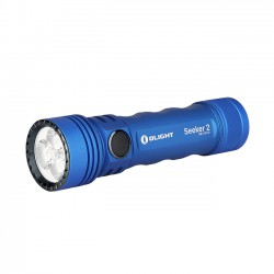 Linterna Olight Seeker 2 Simply Azul 3,000 Lumens Recargable