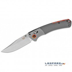 Benchmade Crooked River 15080-1 Clip Point Gris