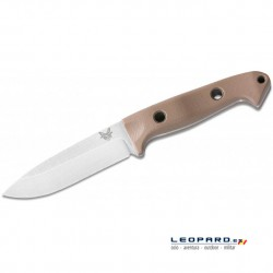 Benchmade Bushcrafter 162-1 Drop Point Marrón Funda Kydex