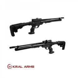 Kral PCP Puncher Rambo Pump Action 6,35 mm