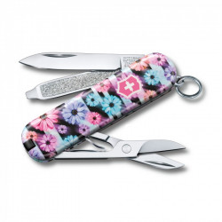 Victorinox Navaja Suiza Multiusos Classic SD 2021 7 usos Dynamic Floral